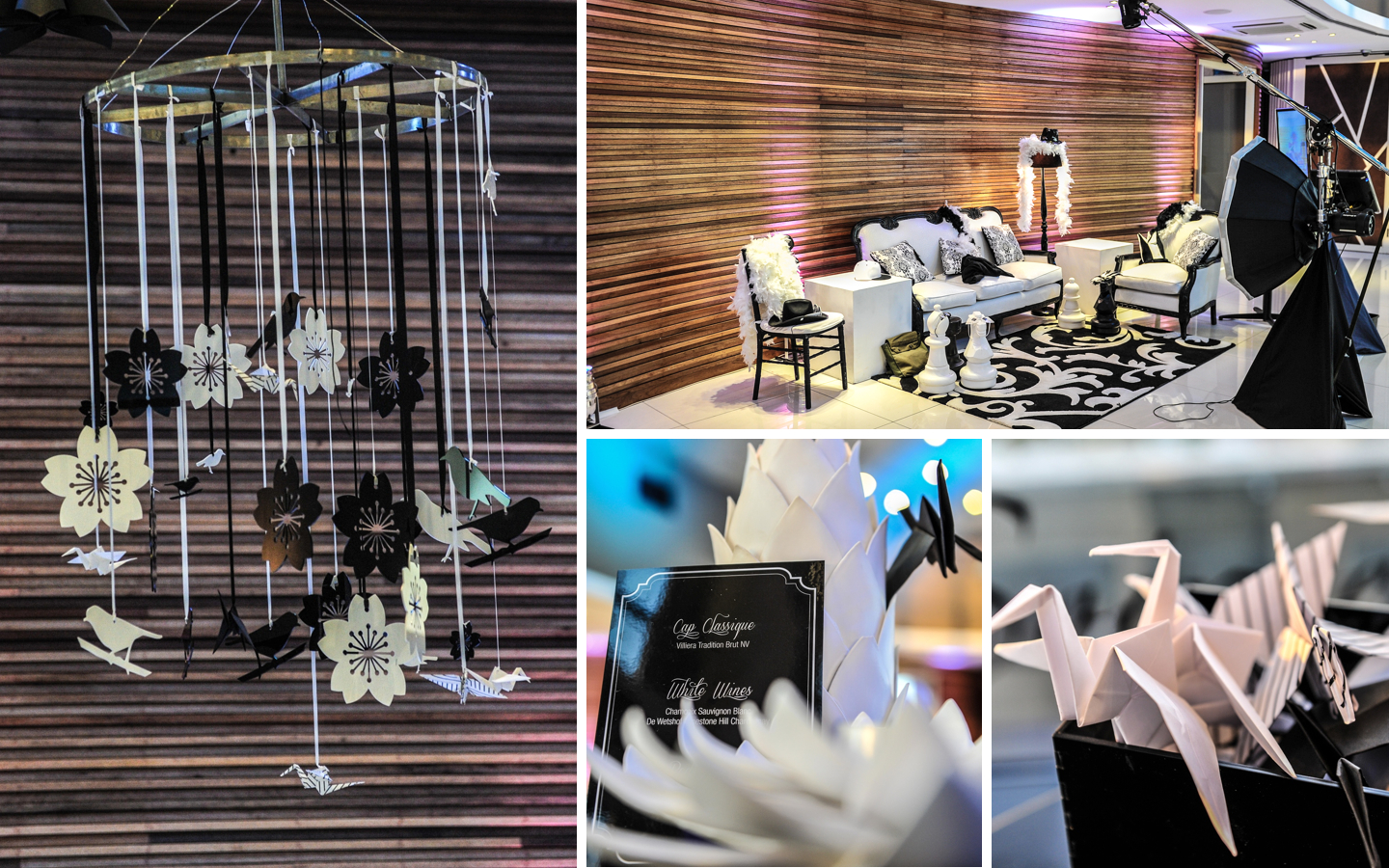 Investec.003 Stylish Black & White End of Year Event