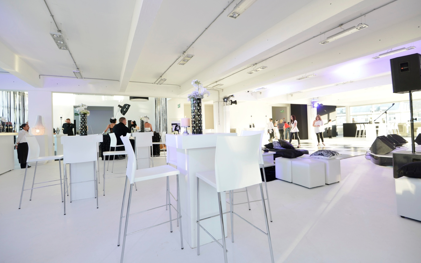 Investec.013 Stylish Black & White End of Year Event