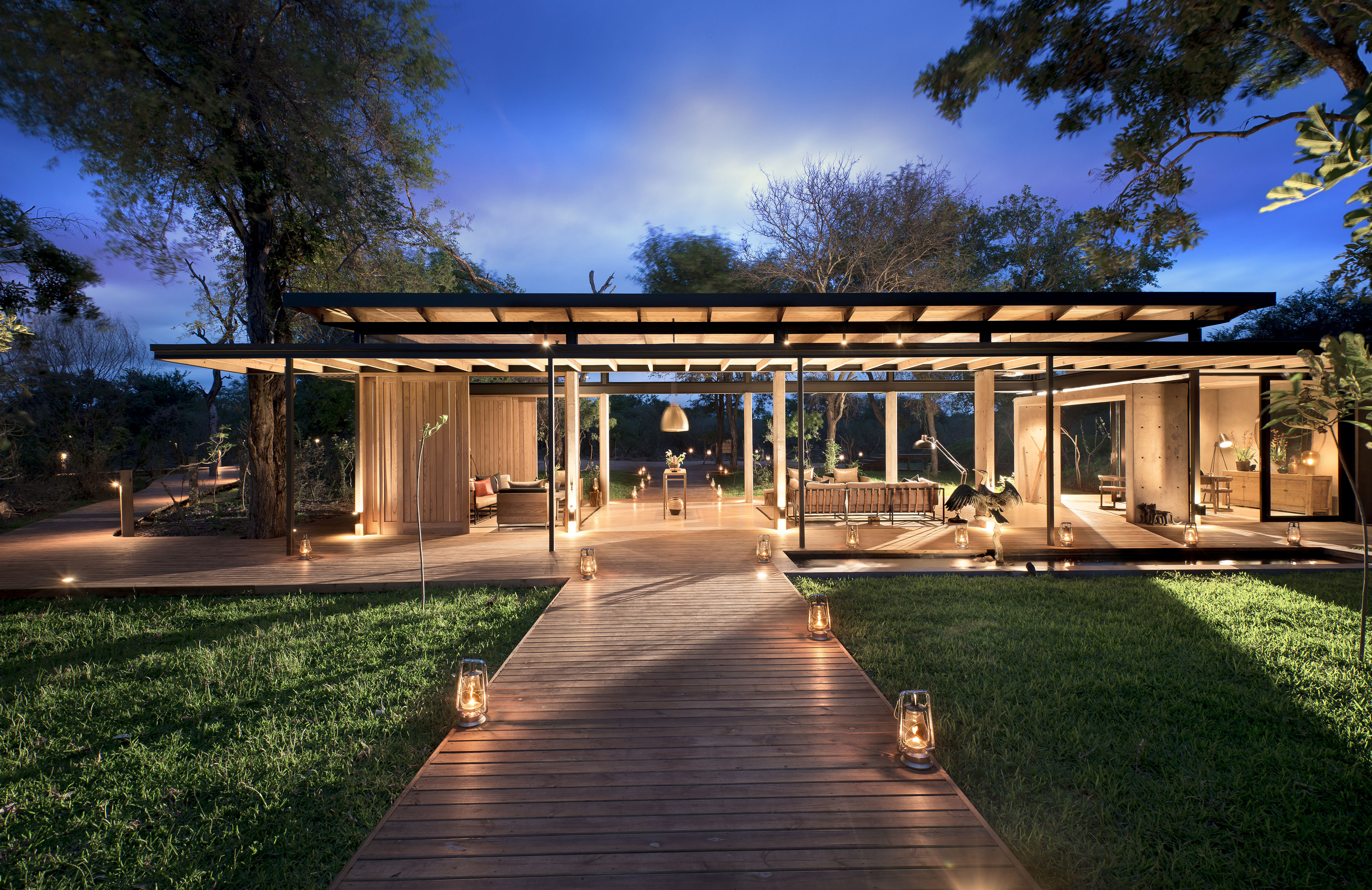 ivorylodgeentrancetoreception 060238 Luxury hideaways for exclusive MICE experiences in South Africa