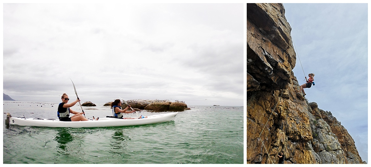 International Group in Cape Town - Destination Management Company - Kayaking and Abseiling