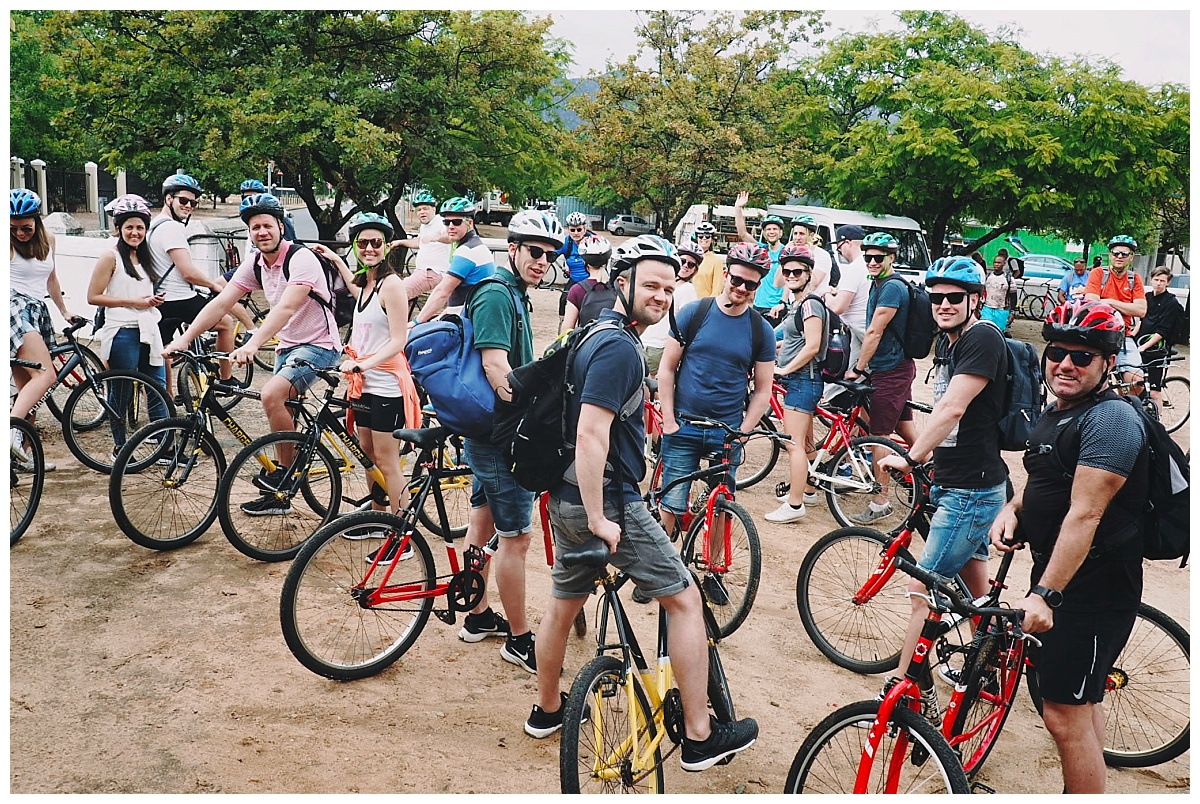 International Group in Cape Town - Destination Management Company - Bicycle Ride