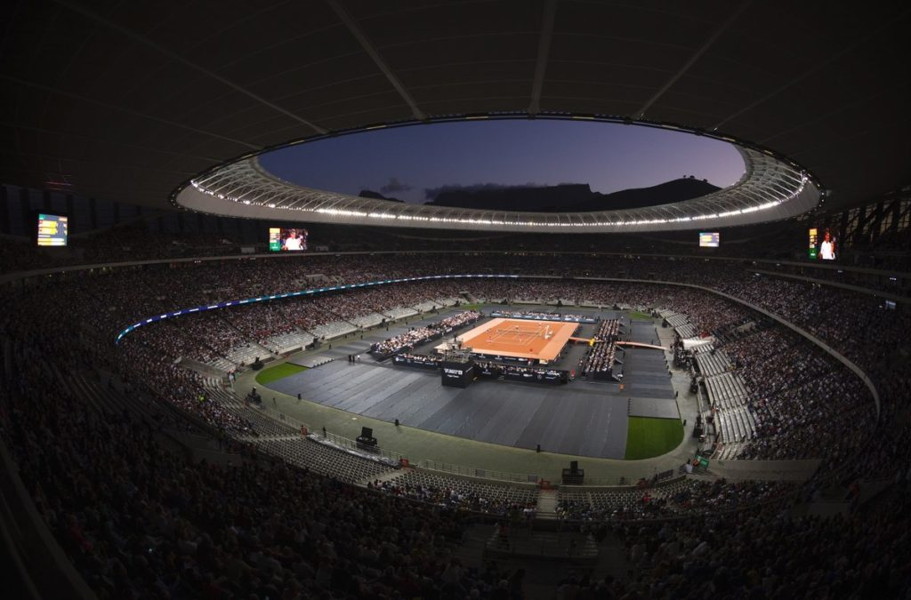 Cape Town Stadium Match 6 1024x675 Exclusive event management services for Roger Federer Foundation